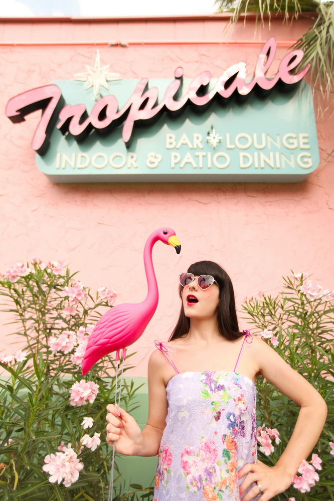 The Cherry Blossom Girl - Tropicale 03