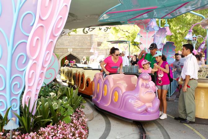 The Cherry Blossom Girl - Disneyland Anaheim 17