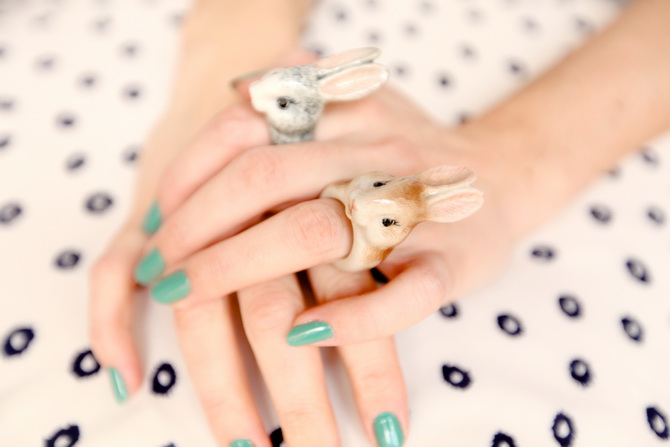 The Cherry Blossom Girl - Nach Bijoux Bunny rings 01