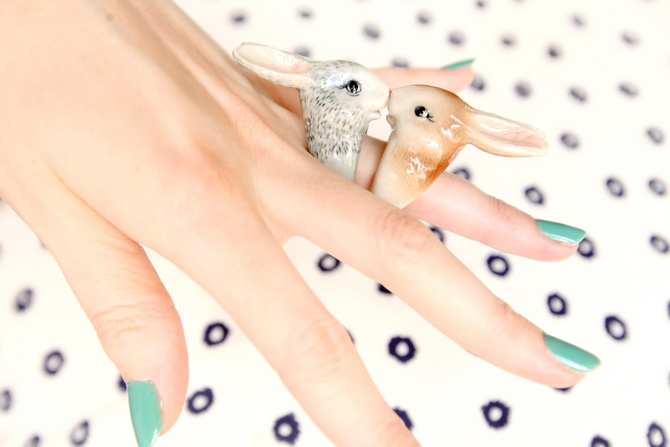 The Cherry Blossom Girl - Nach Bijoux Bunny rings 02