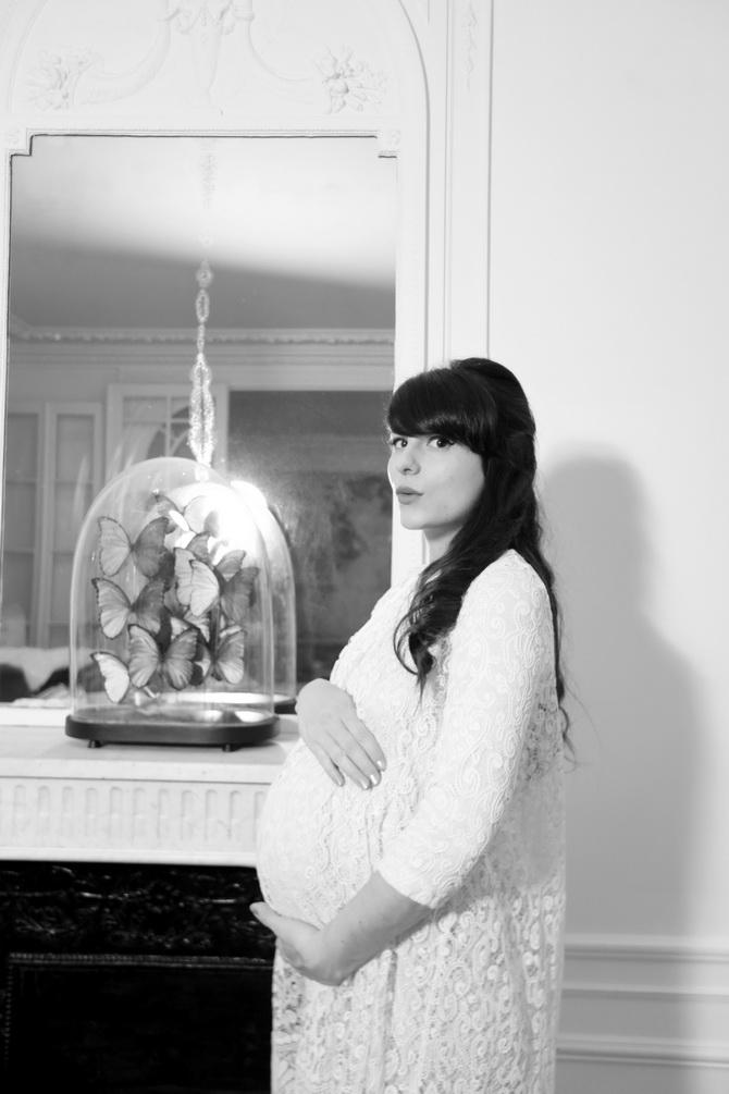 The Cherry Blossom Girl - Pregnancy 01