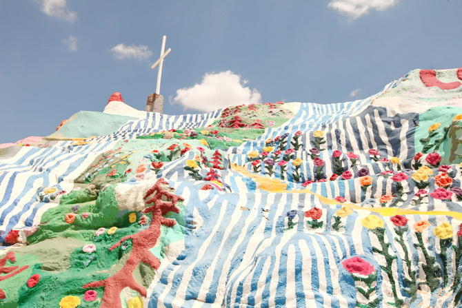The Cherry Blossom Girl - Salvation Mountain 03