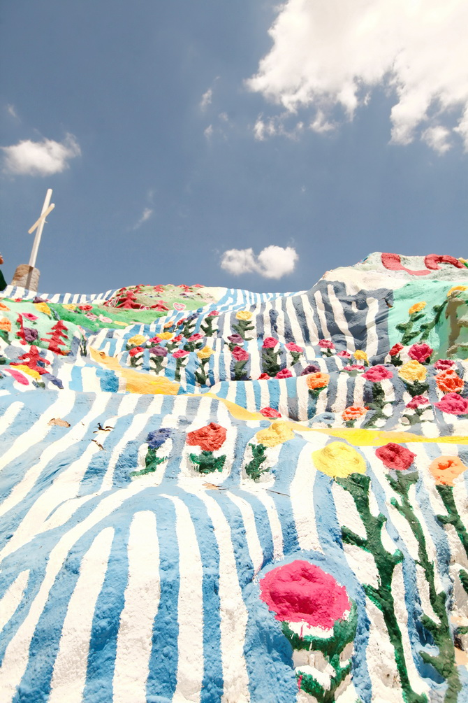 The Cherry Blossom Girl - Salvation Mountain 14