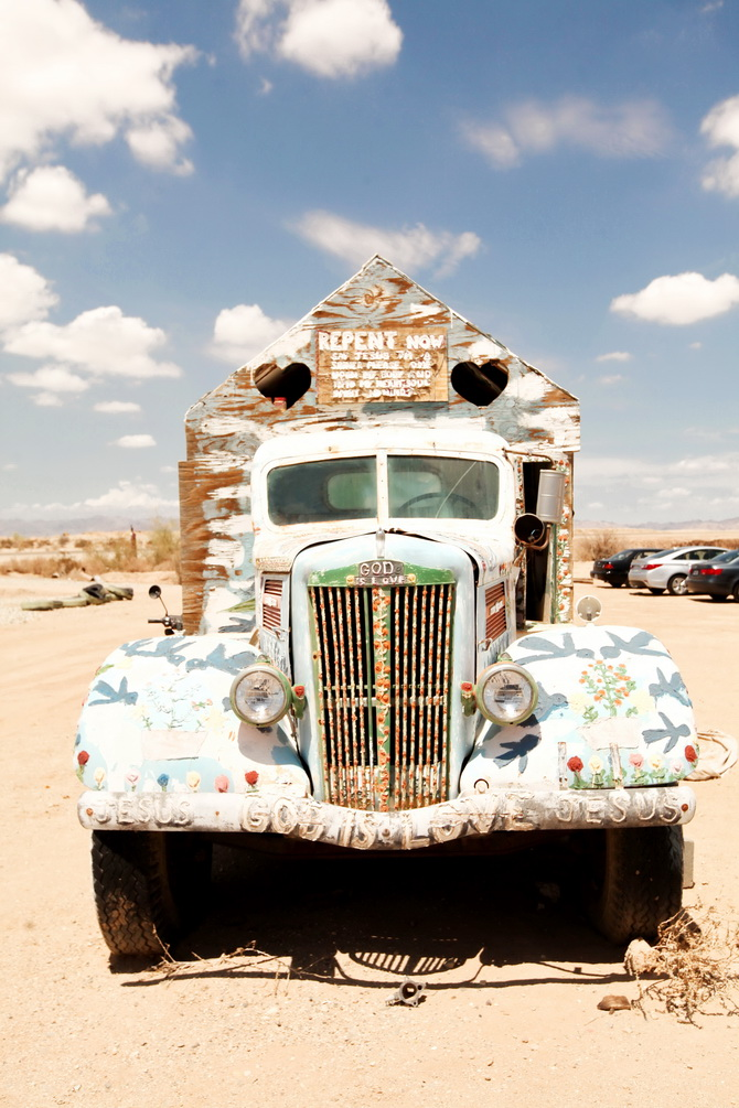 The Cherry Blossom Girl - Salvation Mountain 16