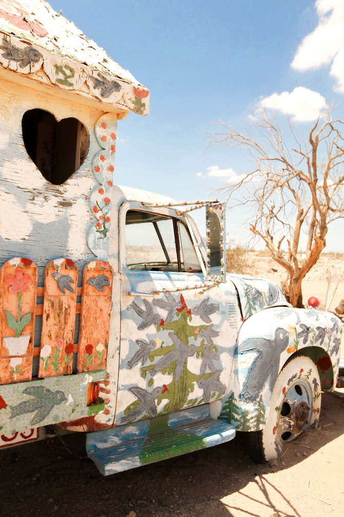 The Cherry Blossom Girl - Salvation Mountain 17
