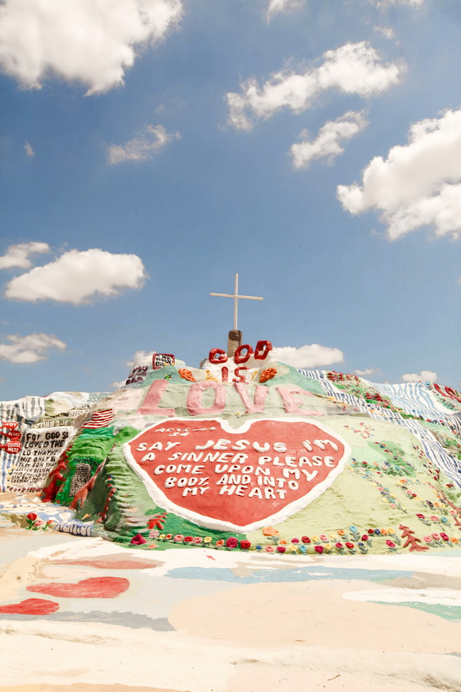 The Cherry Blossom Girl - Salvation Mountain 21