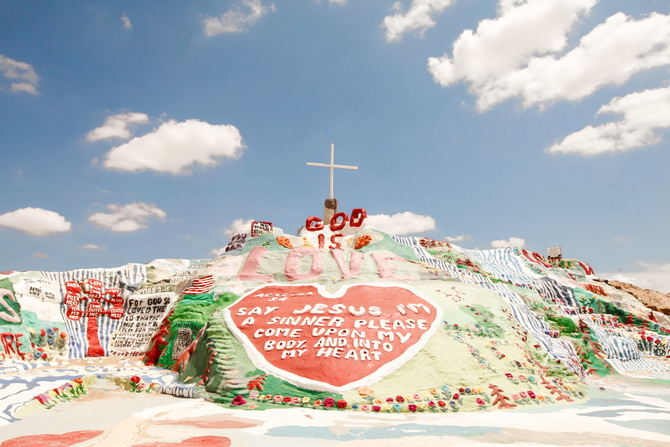 The Cherry Blossom Girl - Salvation Mountain 22