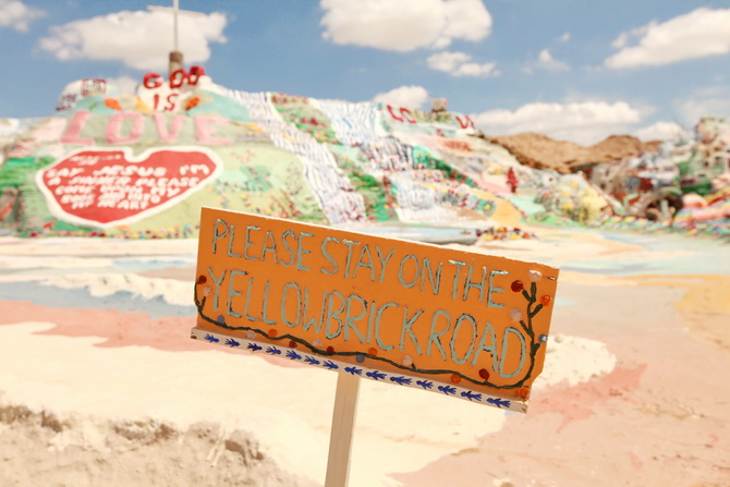 The Cherry Blossom Girl - Salvation Mountain 24