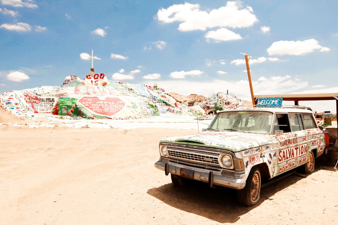 The Cherry Blossom Girl - Salvation Mountain 25