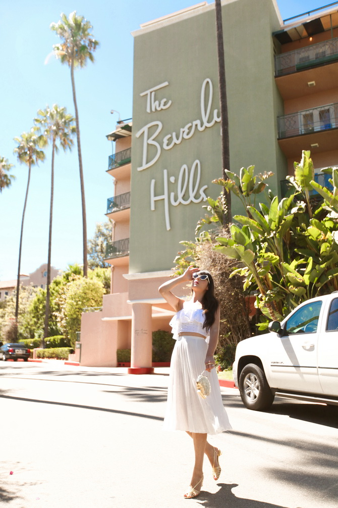 The Cherry Blossom Girl - The Beverly Hills Hotel 03