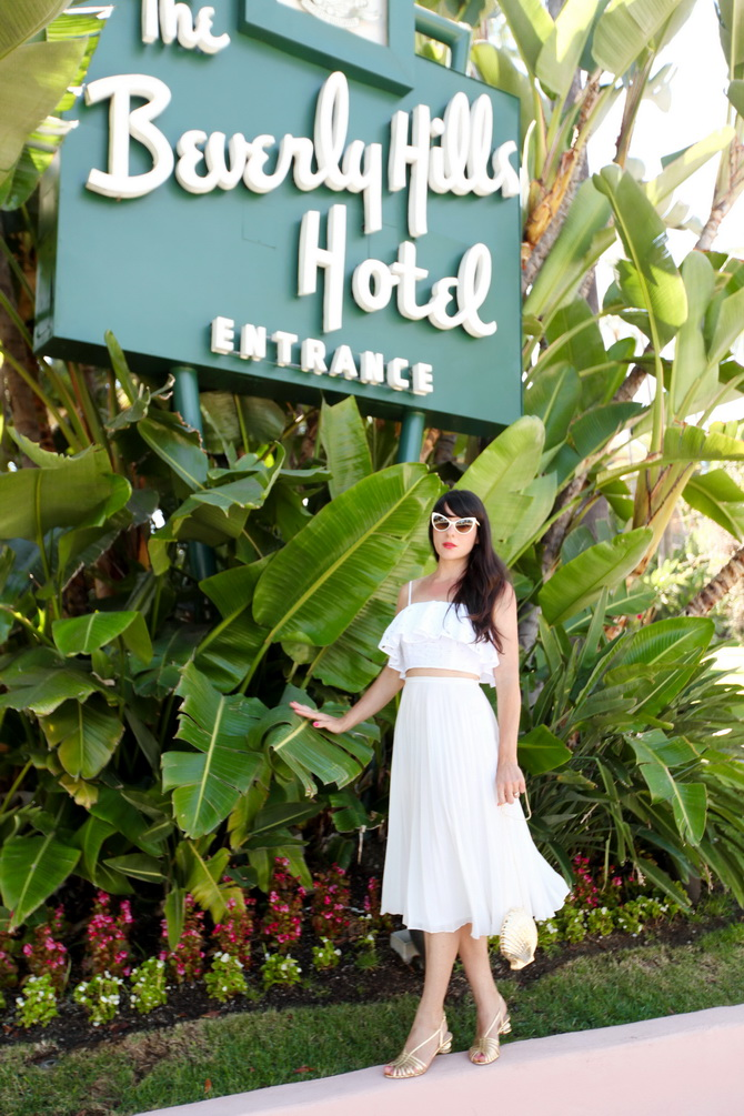 The Cherry Blossom Girl - The Beverly Hills Hotel 08