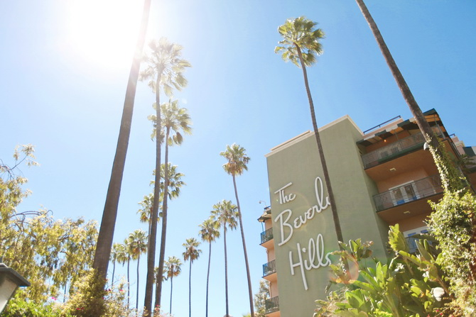 The Cherry Blossom Girl - The Beverly Hills Hotel 25