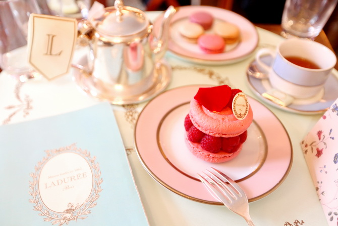 The Cherry Blossom Girl - A day at ladurée 02