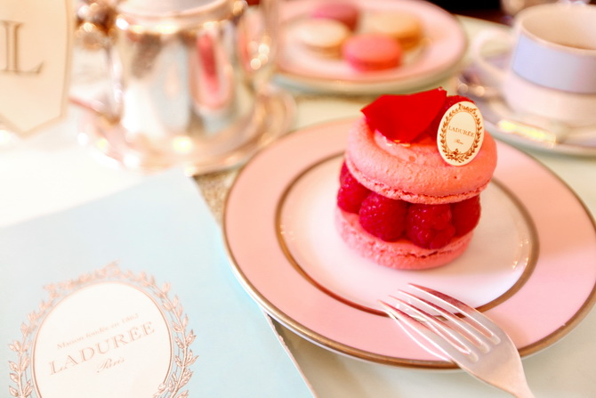 The Cherry Blossom Girl - A day at ladurée 04