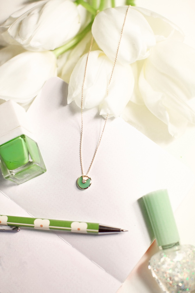 The Cherry Blossom Girl - Cartier Green 02