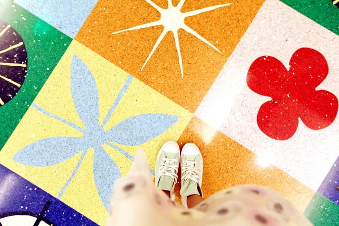 The Cherry Blossom Girl - Magic Color Flair, The World Of Mary Blair 10