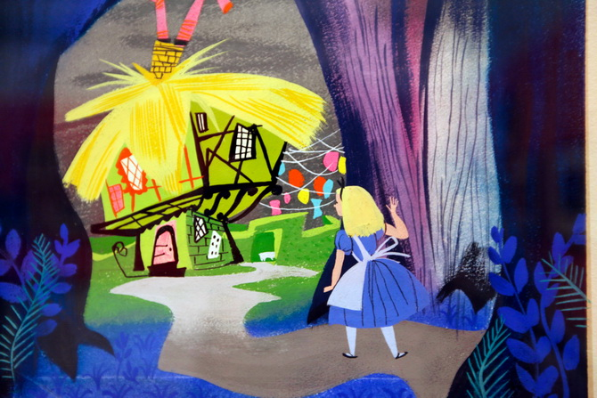 The Cherry Blossom Girl - Magic Color Flair, The World Of Mary Blair 22