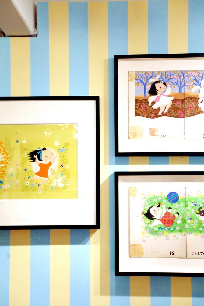 The Cherry Blossom Girl - Magic Color Flair, The World Of Mary Blair 26