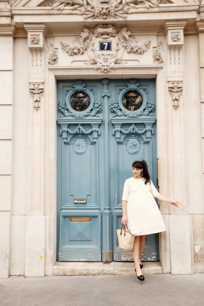 The Cherry Blossom Girl - Paris Blue Door 01