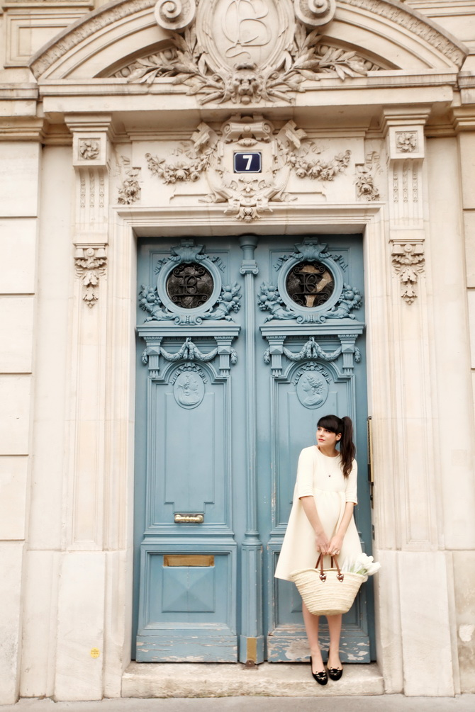 The Cherry Blossom Girl - Paris Blue Door 02