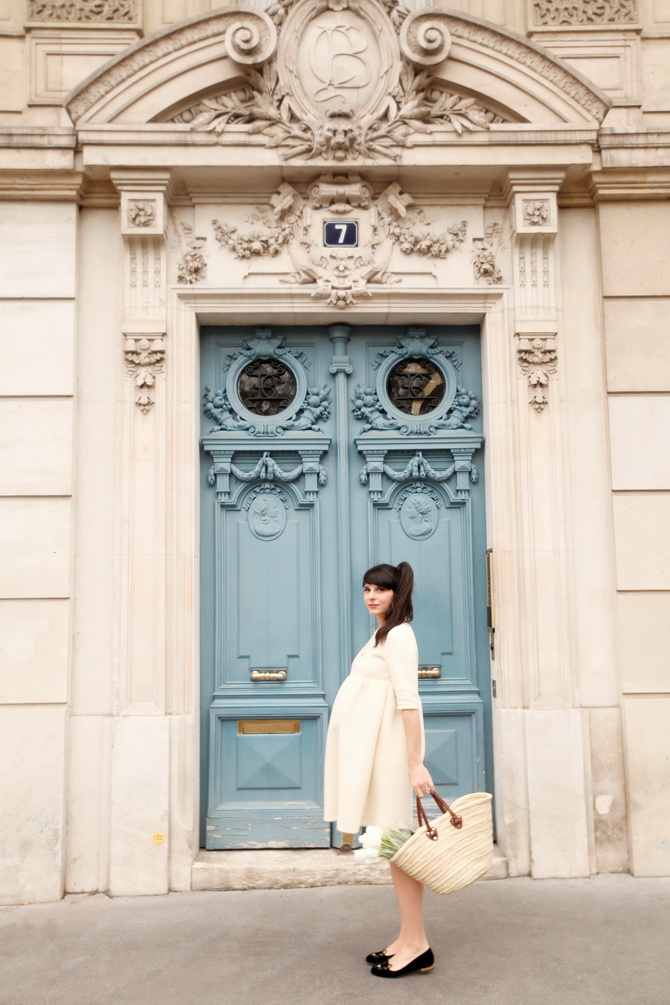 The Cherry Blossom Girl - Paris Blue Door 05