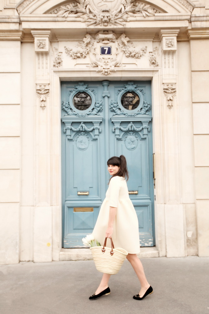 The Cherry Blossom Girl - Paris Blue Door 07